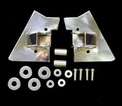 MIRROR RELOCATION BRACKET SET (Stainless)