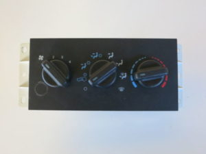 Climate Control Panel Temperature Unit A/C Heater