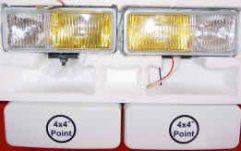 High Quality 4x4Point Driving/Fog Lights 4 x 55W Bulbs Included.