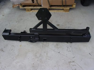 JEEP CHEROKEE XJ Rock Crawler Rear Bumper, With Tyre Carrier