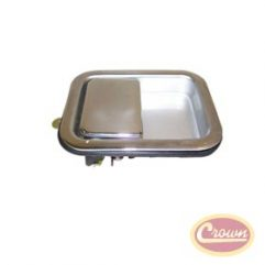 Outside Door Paddle Handle (Chrome)