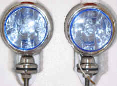 High Quality 4x4Point 2x55W BLUE SUPER DRIVING/SPOT LIGHTS