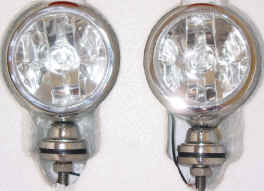 High Quality 4x4Point 2x55W SUPER DRIVING/SPOT LIGHTS BULBS INCL