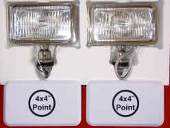SET of HIGH QUALITY SUPER 100W DRIVING LIGHTS