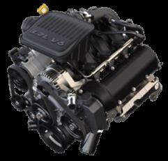 3.7 Liter Jeep Engine