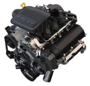 3.7 Liter Jeep Engine